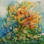 23. CRISTINA TAMAS - TREE OF MY SOUL - TEHNICA MIXTA - 30 X 30 - 450 E